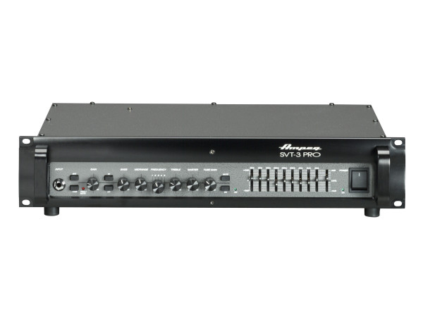SVT-3PRO 450W Tube Preamp Bass Head