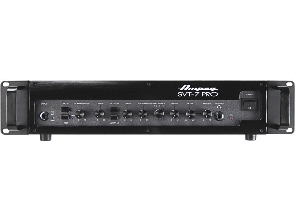 SVT-7PRO 1000W Tube Preamp Bass Head