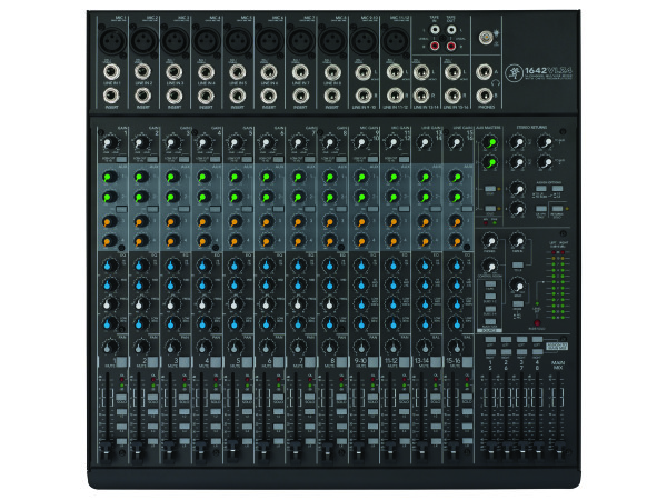 1642-VLZ4 16 Channel Compact Analogue Mixer