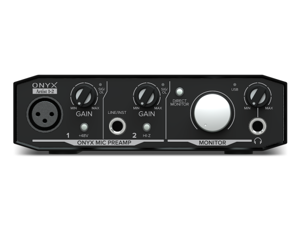 Onyx Artist 1•2 - 2 in, 2 out USB interface