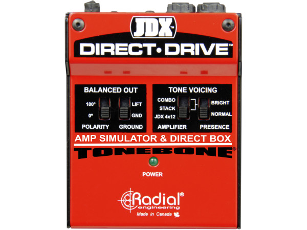 JDX Direct-Drive - Amp Simulator and DI Box