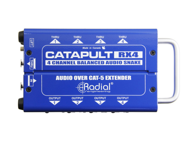 Catapult RX4 4-Channel Receiver, with Balanced Outputs