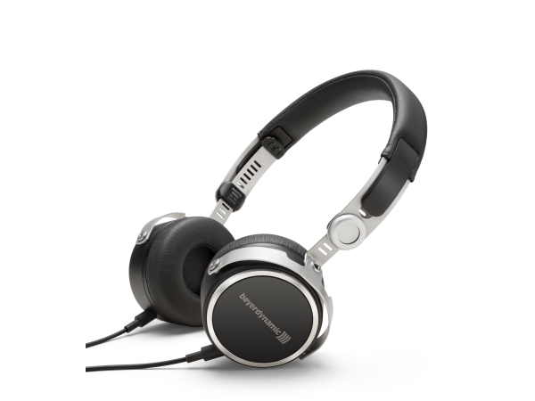 Aventho Wired in Black High-end Portable Tesla Headphones (32 Ohm)