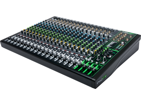 ProFX22v3 - 22 Channel 4-bus Effects Mixer