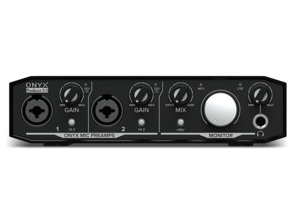 Onyx Producer 2•2 - 2 in, 2 out USB interface