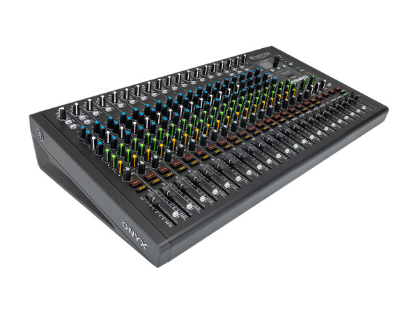 Mackie Onyx24 - 24-Channel Premium Analog Mixer with Multitrack USB