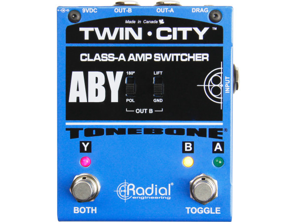 Tonebone Twin-City - Active ABY Switcher