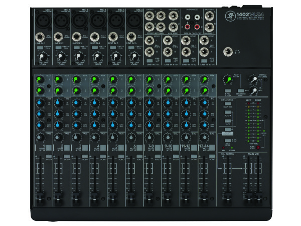 1402-VLZ4 14 Channel Compact Analogue Mixer