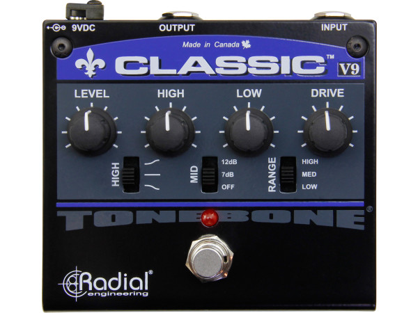 Classic V9 - Overdrive distortion pedal