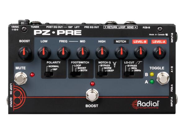 PZ-Pre - Acoustic Instrument Preamplifier