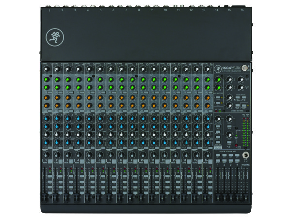 1604-VLZ4 16 Channel 4 Bus Compact Analogue Mixer