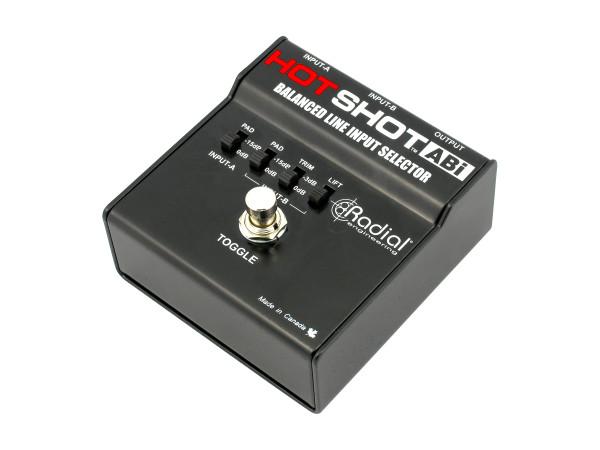 HotShot ABi -Balanced Footswitch Selector
