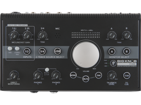 Big Knob Studio 3x2 Studio Monitor Controller