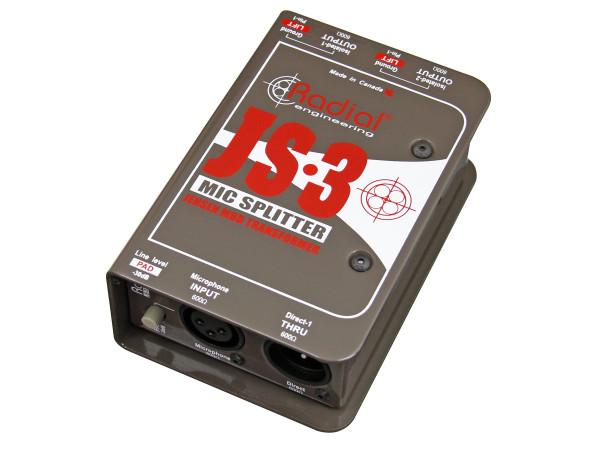 JS3 - Passive - Microphone Splitter