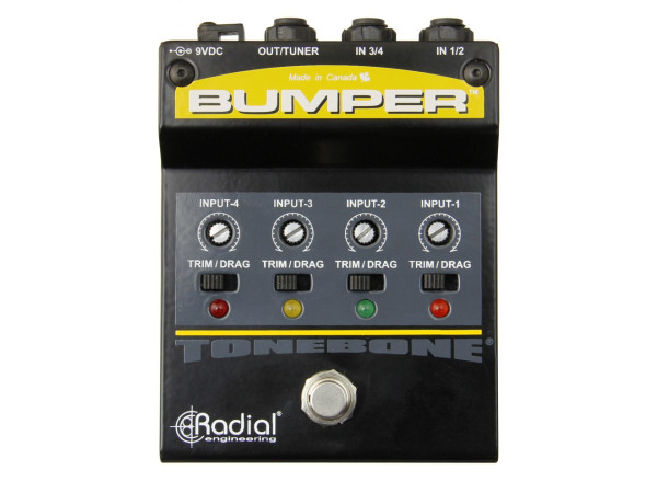 Bumper - Footswitch Instrument selector
