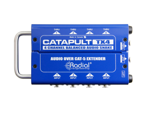 Catapult TX4 4-Channel Transmitter with Balanced I/O