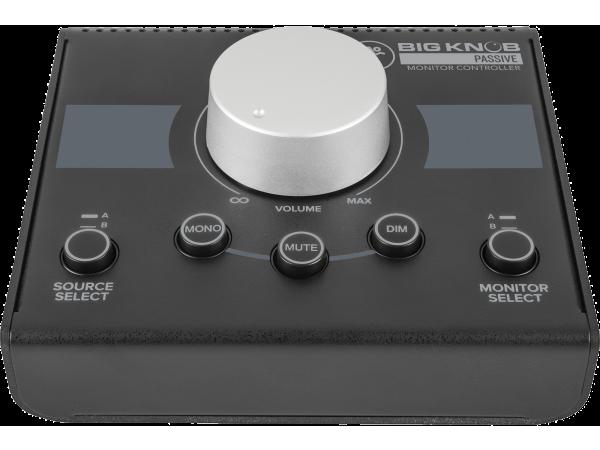 Big Knob Passive 2x2 Studio Monitor Controller