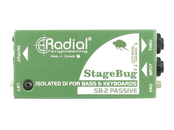 StageBug SB-2 - Passive Direct Box
