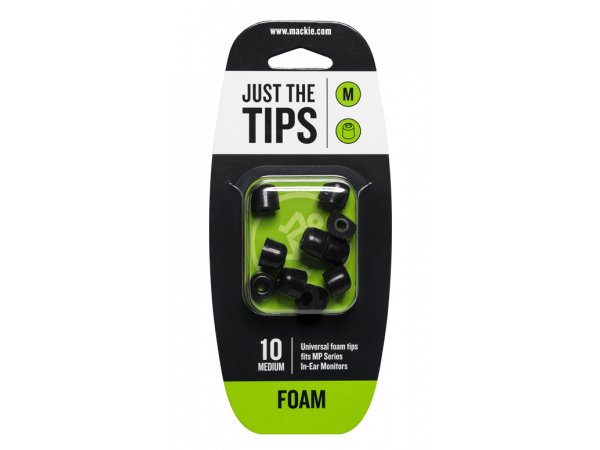 Mackie MP Series Foam Tip Kit - Medium