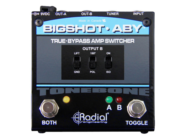 BigShot ABY - True-bypass ABY Amp Selector