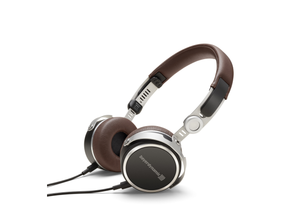 Aventho Wired in Brown High-end Portable Tesla Headphones (32 Ohm)