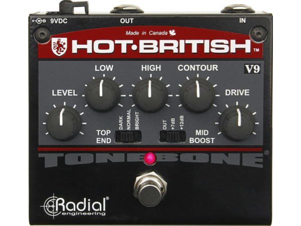 Hot-British V9 - Distortion Pedal