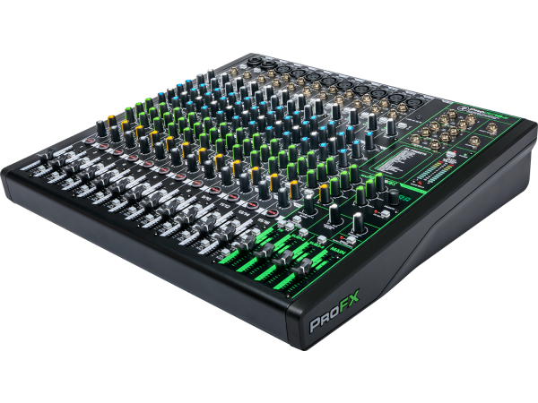 ProFX16v3 - 16 Channel 4-bus Effects USB Mixer