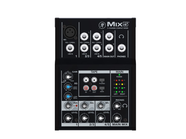 Mix5 5 Channel Compact Mixer