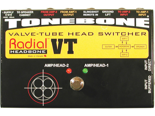 Headbone VT - Valve Tube Head Switcher