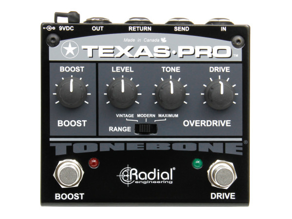 Texas Pro - Overdrive and Boost Pedal