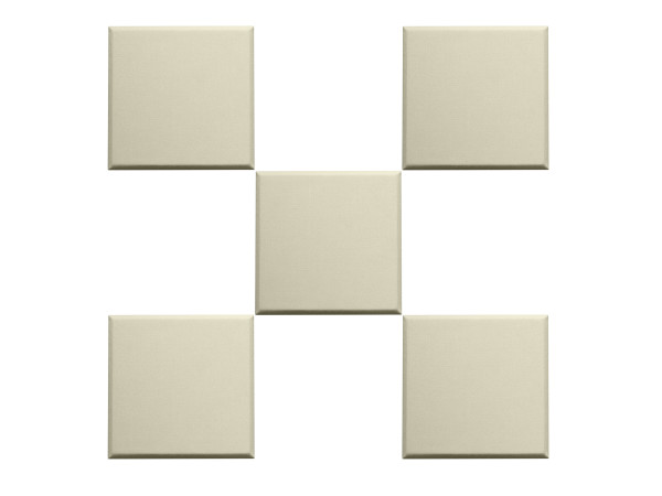 "Scatter Blocks 1"" - Beige Acoustic Wall Panel"