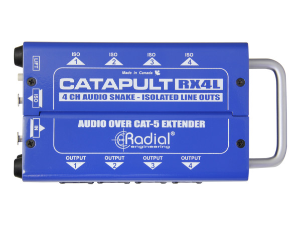 Catapult RX4L 4-Channel Receiver, with Balanced Outputs, Line-Level Transformers