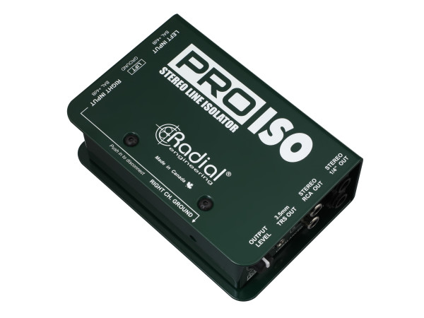 Pro-Iso Stereo +4dB to -10dB Converters