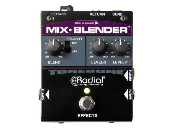 Mix-Blender - Dual-function buffer, mixer & FX loop pedal