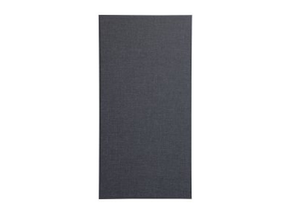 "Broadband Absorber 2"" Square Edge - Black  (24"" x 48"" x 2"") Acoustic Wall Panel"