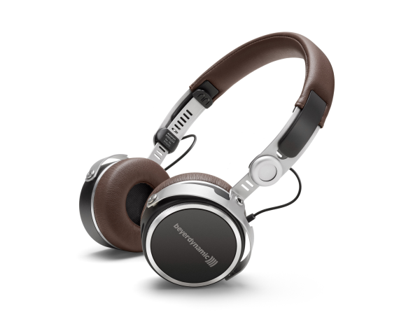 Aventho Wireless in Brown Stereo Headphones with Bluetooth (32 Ohm)