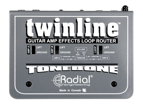 Twinline - Effects loop interface for two amps