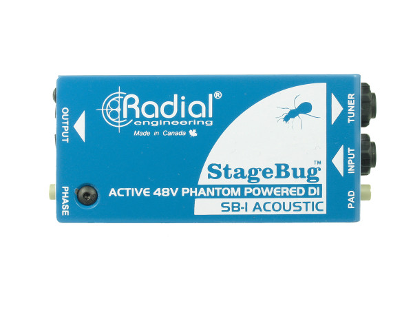StageBug SB-1 - Active Direct Box for Acoustic Guitar