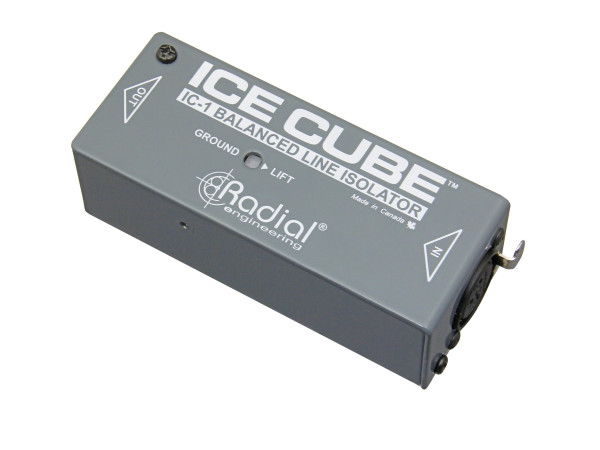 Ice Cube Balanced Line Isolator and Hum Eliminator
