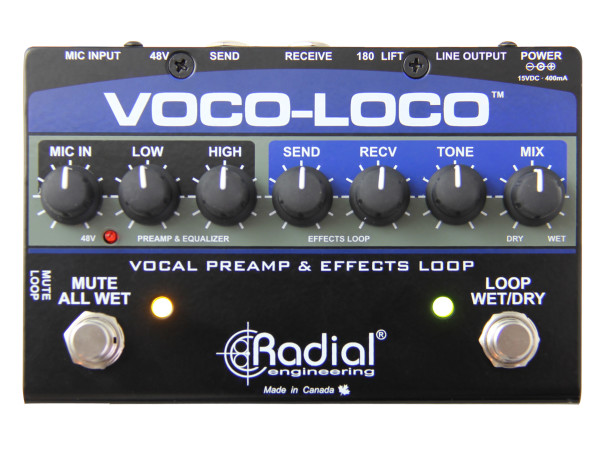 Voco-Loco - Effects Switcher for Voice or Instruments