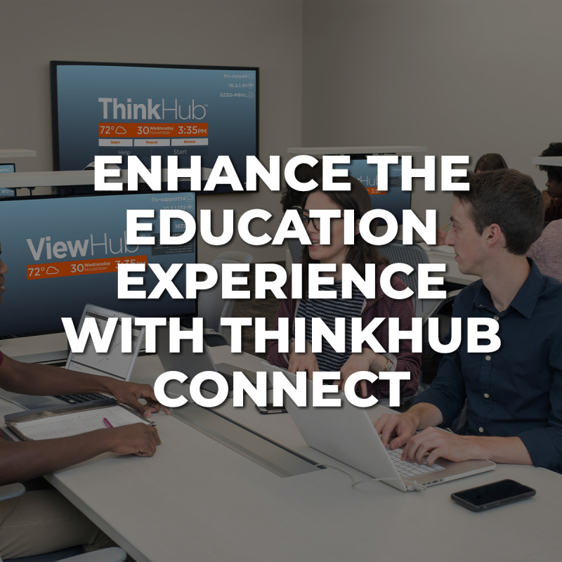 Enhance the Education Experience with ThinkHub Connect image