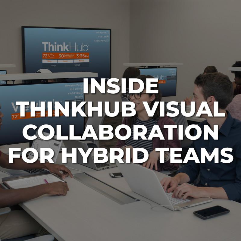 Inside ThinkHub Visual Collaboration for Hybrid Teams image